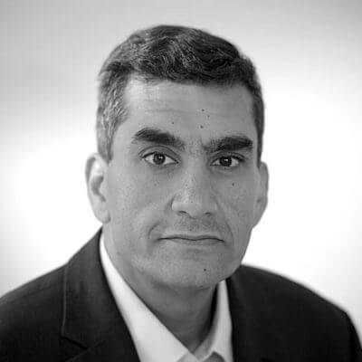Raza Rizvi. DRS Board Member